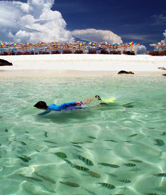 Khai island Phuket Thailand